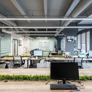 Освещение офиса компании «Рантье-Север»
